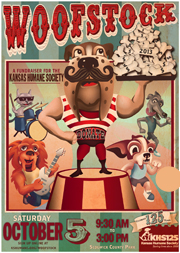 Final Woofstock Poster